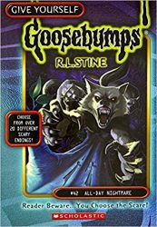 All Day Nightmare Goosebumps Books in Order