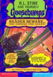 Attack of the Beastly Babysitter Goosebumps Books in Order