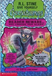 Diary of a Mad Mummy Goosebumps Books in Order