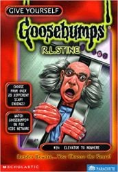 Elevator to Nowhere Goosebumps Books in Order