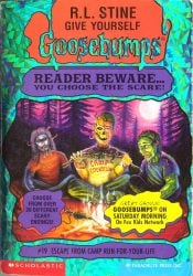 Escape from Camp Run-For-Your-Life Goosebumps Books in Order