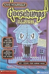 Escape from Horror House Goosebumps Books in Order