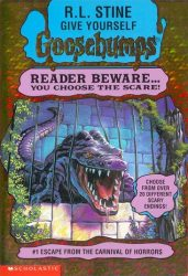 Escape from the Carnival of Horrors Goosebumps Books in Order