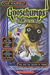 Into the Twister of Terror Goosebumps Books in Order