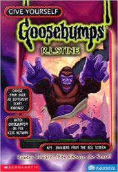 Invaders from the Big Screen Goosebumps Books in Order