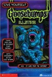 It Came from the Internet Goosebumps Books in Order