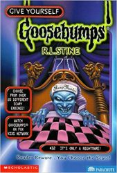 It's Only a Nightmare Goosebumps Books in Order