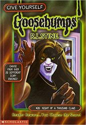 Night of a Thousand Claws Goosebumps Books in Order