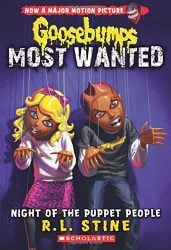 Night of the Puppet People Goosebumps Most Wanted Books in Order