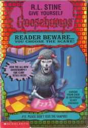 Please Don't Feed the Vampire Goosebumps Books in Order