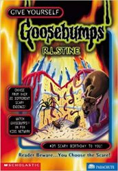 Scary Birthday to You Goosebumps Books in Order