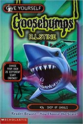 Ship of Ghouls Goosebumps Books in Order