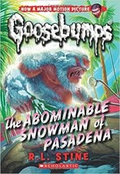 The Abominable Snowman of Pasadena Goosebumps Books in Order