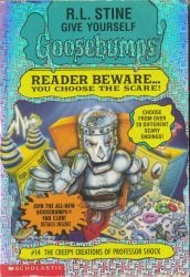 The Creepy Creations of Professor Shock Goosebumps Books in Order