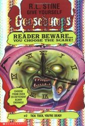 Tick Tock, You're Dead Goosebumps Books in Order