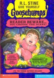 Toy Terror Batteries Included Goosebumps Books in Order