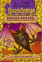 Trapped in Bat Wing Hall Goosebumps Books in Order