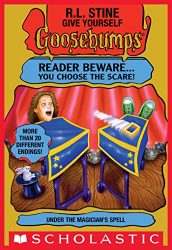 Under the Magician's Spell Goosebumps Books in Order